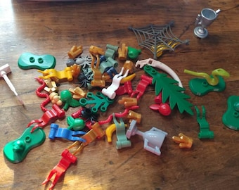 15 count Genuine lego scenery pieces  random selection (CLEANED AND SANITIZED!)
