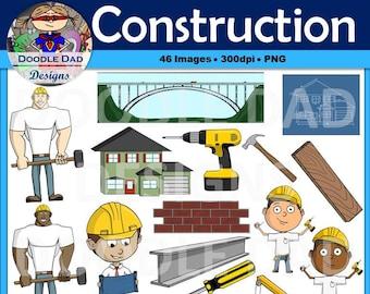 Drill blueprint etsy construction clip art crane hammer blueprint worker foreman house malvernweather Image collections