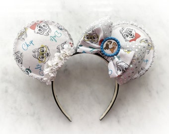 d51afba3b Chip And Dale Inspired Mouse Ears Headband
