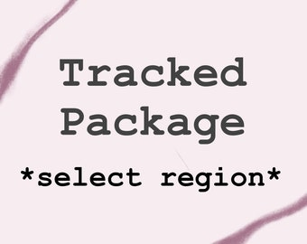 TRACKED SHIPPING **Select Region**