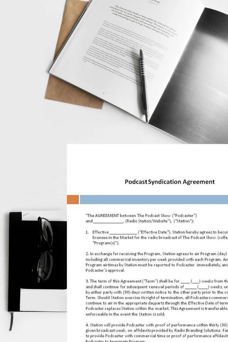 Podcast Syndication Agreement Syndication Agreement Podcast image 0