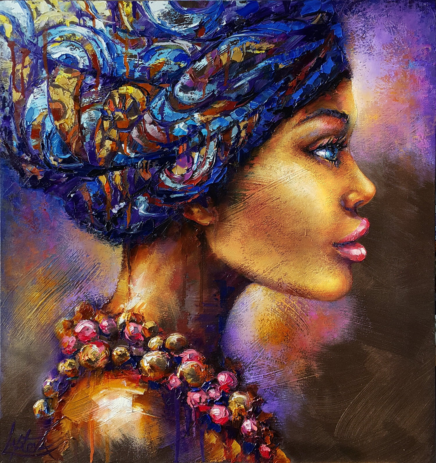 Image result for afro painting