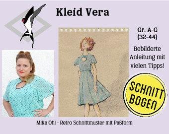 Vera Dress - Cut Bow Size 32-44