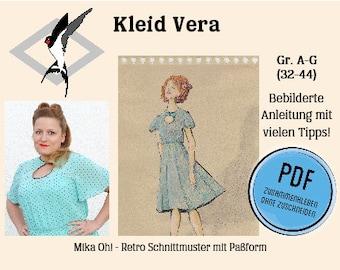 Vera Kleid – PDF Schnittmuster Gr. 32-44