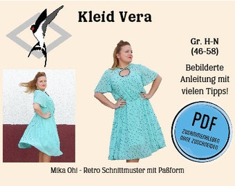 Vera Kleid – PDF Schnittmuster Gr. 46-58