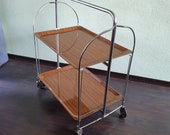 Mid Century design Collapsible tea table, years 70
