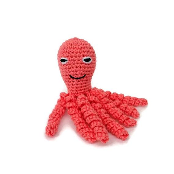 Haak Octopus Baby Speelgoed Preemie Nicu Octopus Gevulde Etsy