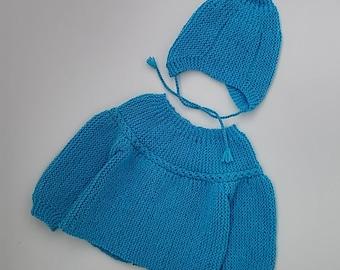 Newborn baby hat set boy Baby boy set clothes Newborn baby hat set girl Newborn knit set outfit boy Baby set clothes Baby sweater and hat