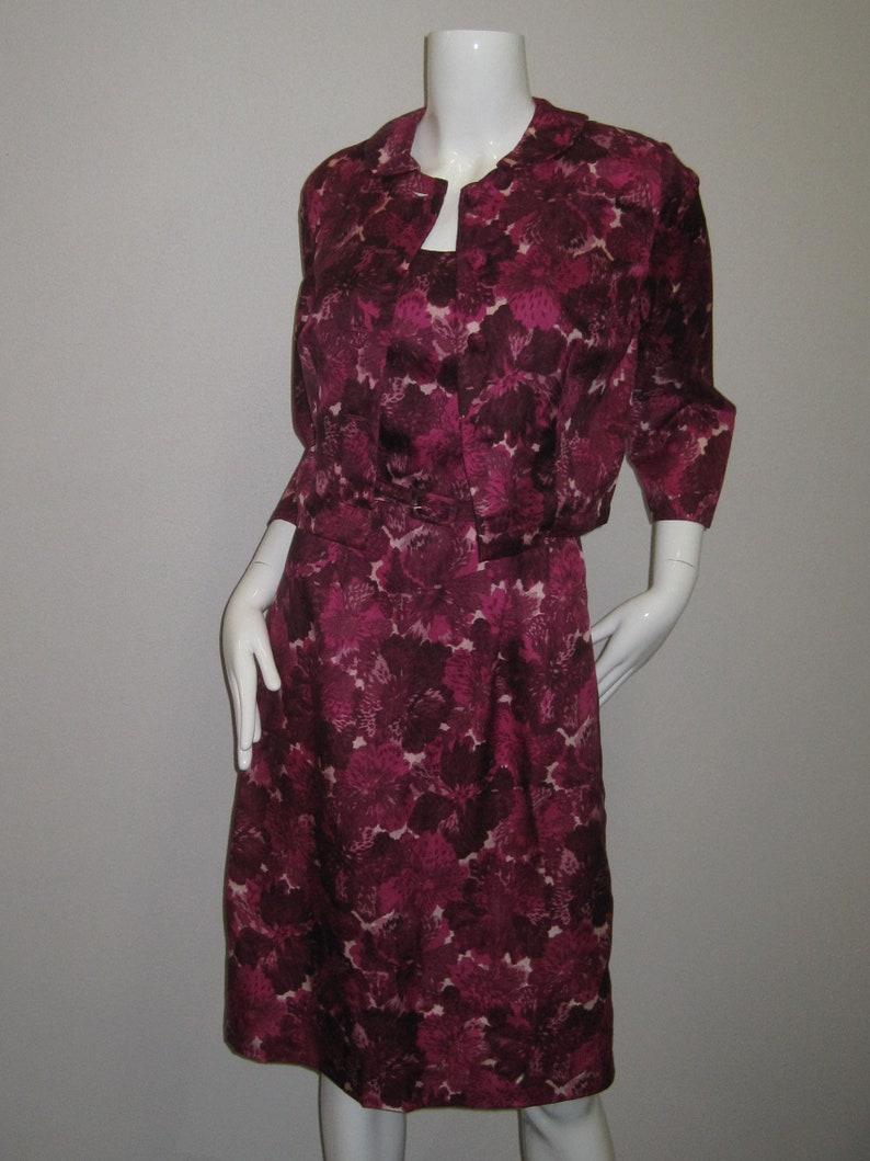 be36ef9d3 VINTAGE DRESS   Bolero jacket Vivid orchid pattern Summer