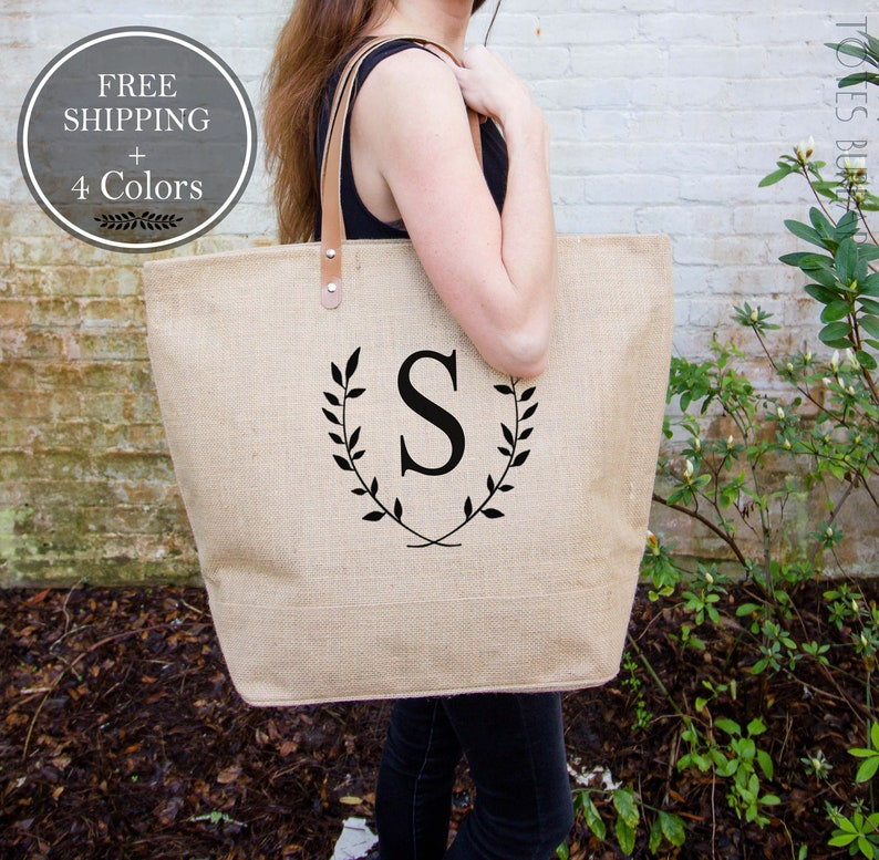 Teacher Gift Teacher Appreciation Gift Personalized Tote Bags image 0