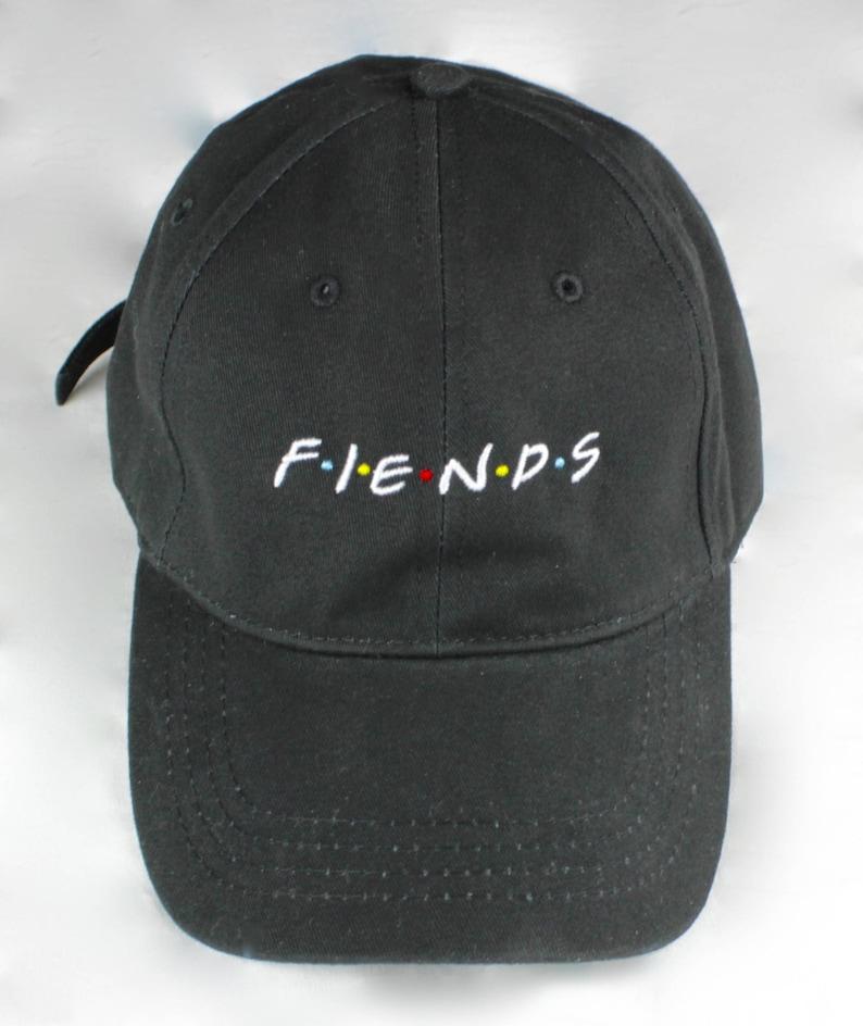 F-I-E-N-D-S Dad Cap Friends Show Friends No New Friends  46bcb78b2bc2