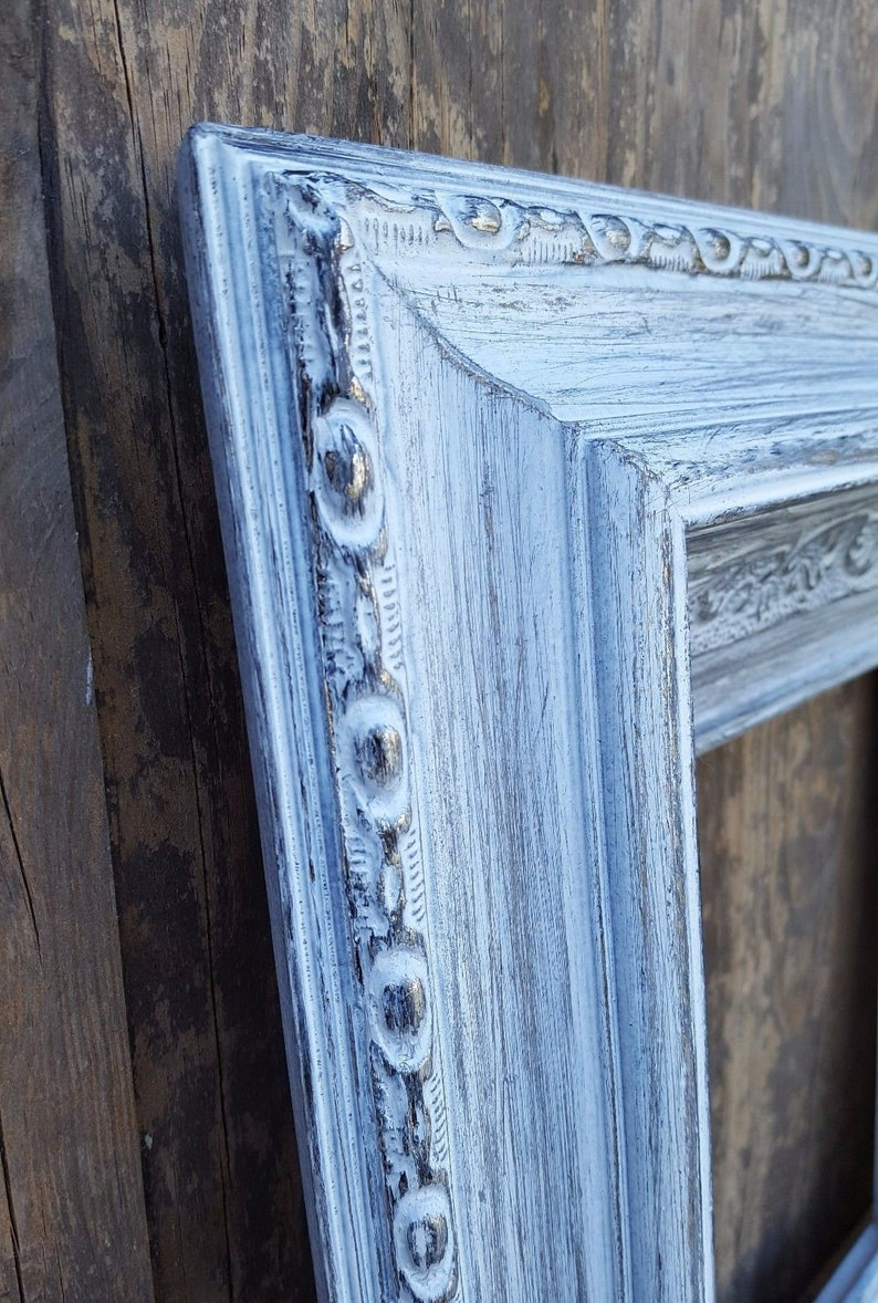 Colonial Style Wood Picture Frame family portrait frame wedding frame,brides frame,French decor,ornate frame,custom wood picture frame