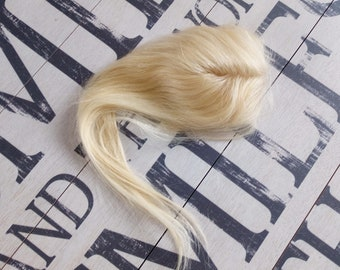 c5741eb1d2 Hair Topper Real Remy Human Clip In Hand Tied Hair Piece for Volume and  Thinning Hair 8-20 Inches Available In Various Colours