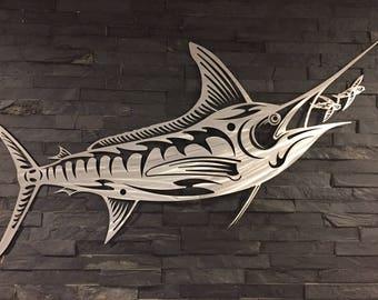 Metal Fish Etsy