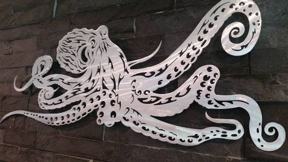 Octopus wall hanging sea life