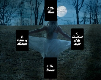 The Dancer and The Moon Tarot Reading