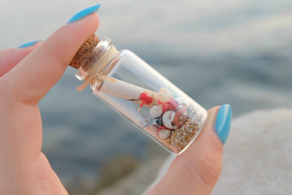 Personalised Birthday Gift Message In A Bottle Unique Gifts Etsy