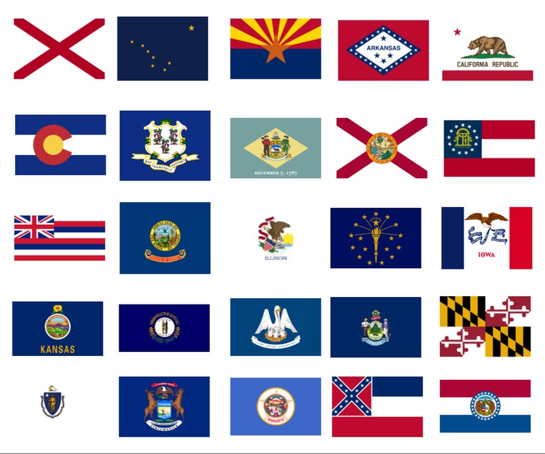 photo relating to Printable State Flags known as Printable Region Flags, Clip Artwork, Sbooking, Banners, Paper Crafts, Fixed of 50, Electronic PNG Clear, Flags, Electronic Obtain, Flags