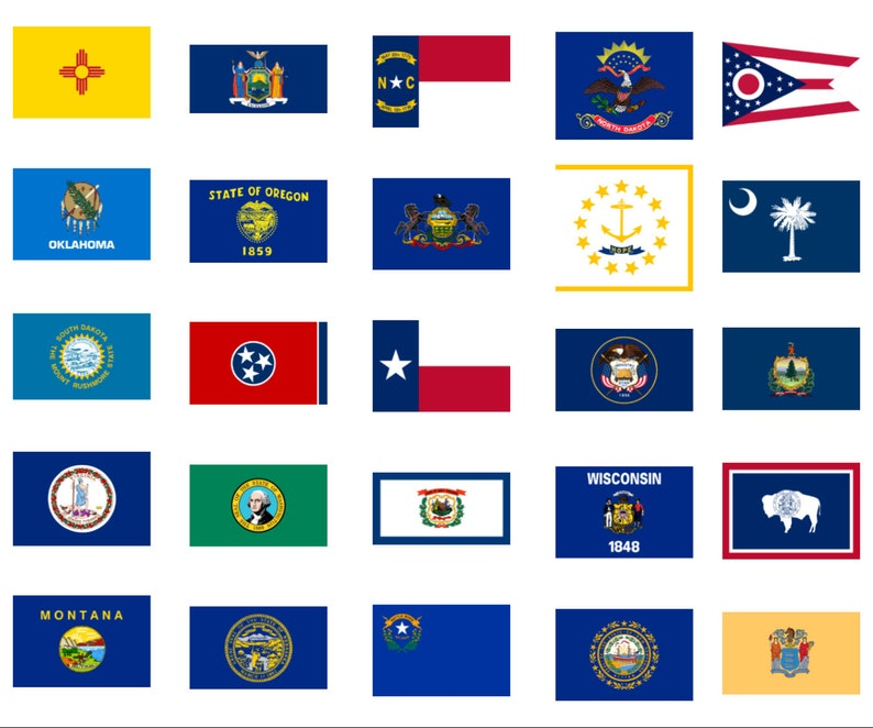 image regarding Printable State Flags titled Printable Nation Flags, Clip Artwork, Sbooking, Banners, Paper Crafts, Fastened of 50, Electronic PNG Clear, Flags, Electronic Obtain, Flags