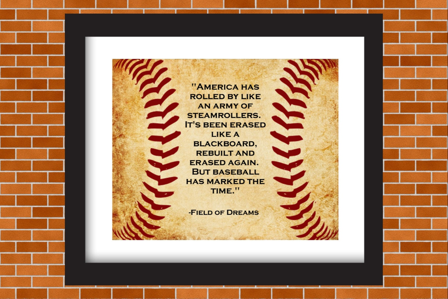 Printable Baseball Art Field of Dreams Baseball Quote Boys | Etsy