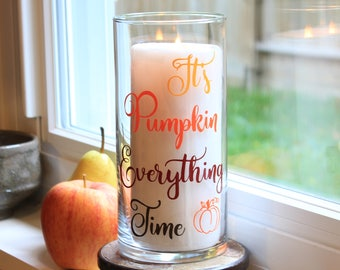 Fall Candle Holder, Fall Decorations, Fall Decor, Thanksgiving Candle Holder, Autumn Candle Holder, Autumn Decor, Thanksgiving Decorations