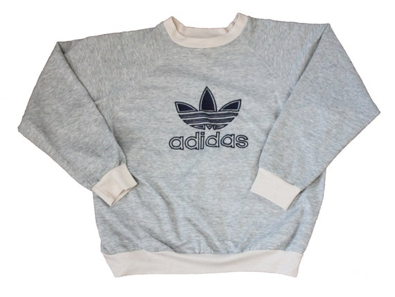 Vintage Sweatshirt - Adidas Raglan Sweatshirt (90s