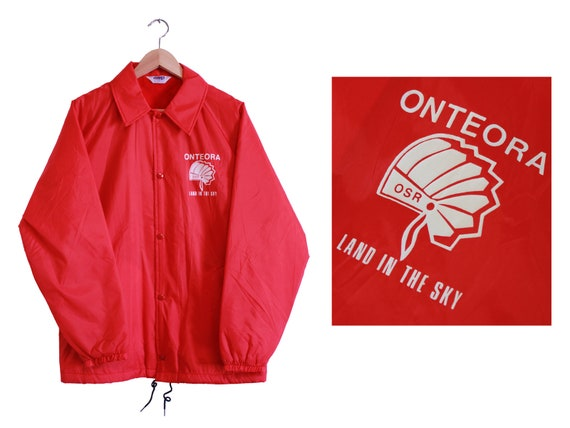 Vintage Jacket - Onteora Land In The Sky Windbreak