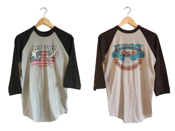 Vintage T Shirt - Alabama Tour Shirt (80s - 1982 /