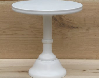 """white stand, gold stand, distressed stand, Tall Cake stand,8"""",10"""",12"""",14"""",16"""",18"""" inches , White, Wedding Cake Stand,  16inches, 12inches"""