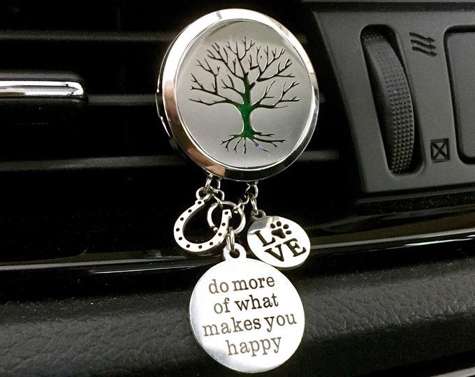 Car Oils Diffuser, Essential Oils  Locket, Aromatherapy Car, Scent Diffuser