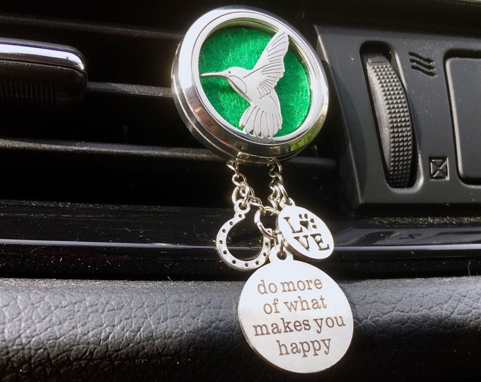 Car Diffuser, Vent Clip, Essential Oils Diffuser, Aromatherapy Locket