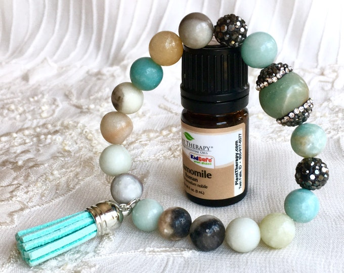 Aromatherapy Bracelet, Tassel Diffuser Bracelet, Essential Oils Bracelet, Healing Bracelet