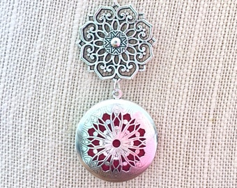 Diffuser Necklace, Aromatherapy Locket, Essential Oils Locket, Scent Diffuser Necklace