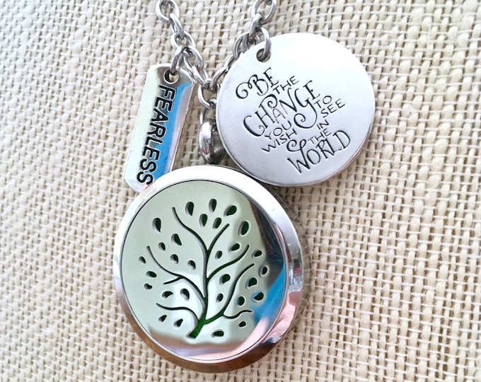 Aromatherapy Locket, Essential Oils Diffuser, Diffuser Locket, Scent Necklace