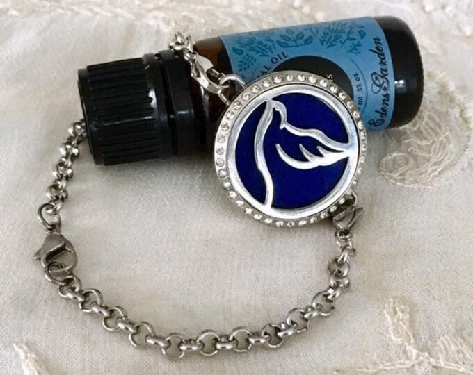 Diffuser Bracelet, Essential Oils Diffuser, Aromatherapy Bracelet, Yoga Locket, Diffuser Locket