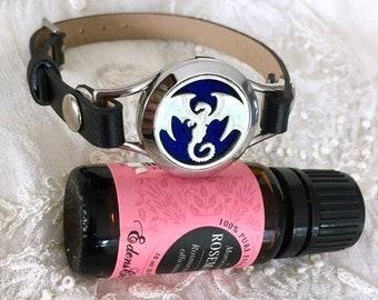 Essential Oils Bracelet, Diffuser Bracelet, Aromatherapy Bracelet, Diffuser Locket