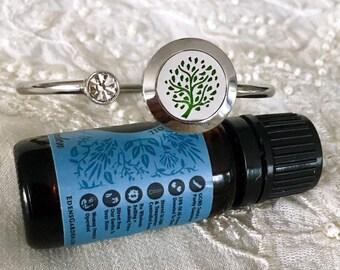 Aromatherapy Locket, Oils Diffuser Bracelet , Essential Oils Locket, Scent Bracelet