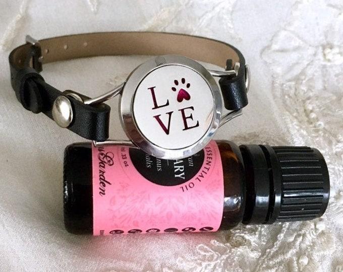 Aromatherapy Bracelet, Essential Oils Diffuser Bracelet, Aromatherapy Locket Bracelet, Scent Locket
