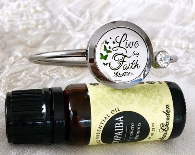 Aromatherapy Bracelet, Diffuser Locket, Essential Oils Bracelet, Scent Locket