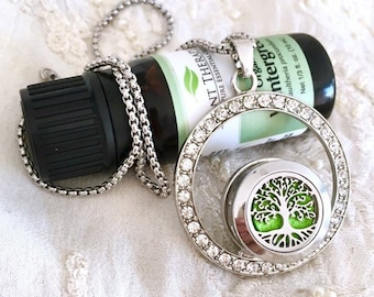 Snap Button Necklace, Aromatherapy Diffuser Necklace, Diffuser Snap Button, Essential Oils Diffuser Locket