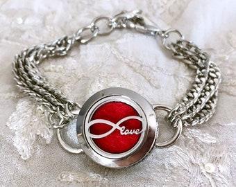 Aromatherapy Bracelet, Snap Button Locket , Essential Oils Diffuser Snap, Diffuser Bracelet