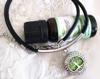 Snap Necklace, Aromatherapy Necklace, Snap Diffuser, Essential Oils Necklace, Snap Button Diffuser