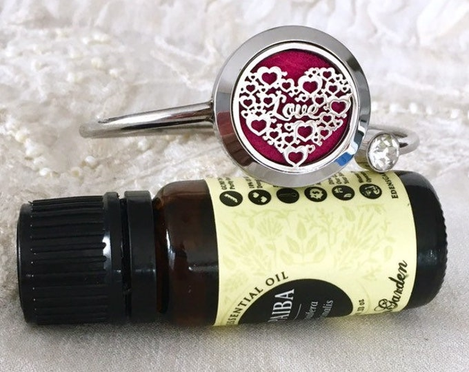 Essential Oils Bracelet, Diffuser Bracelet, Aromatherapy Bracelet, Oils Locket
