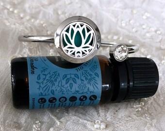 Aromatherapy Bracelet, Diffuser Bracelet, Essential Oils Locket, Diffuser Locket Bracelet