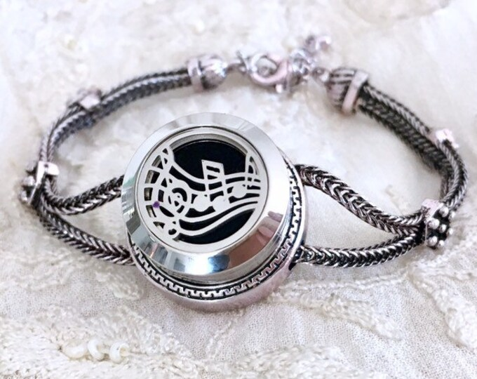 Aromatherapy Bracelet, Essential Oils Diffuser Locket, Snap Button Snap Charm, Snap Locket