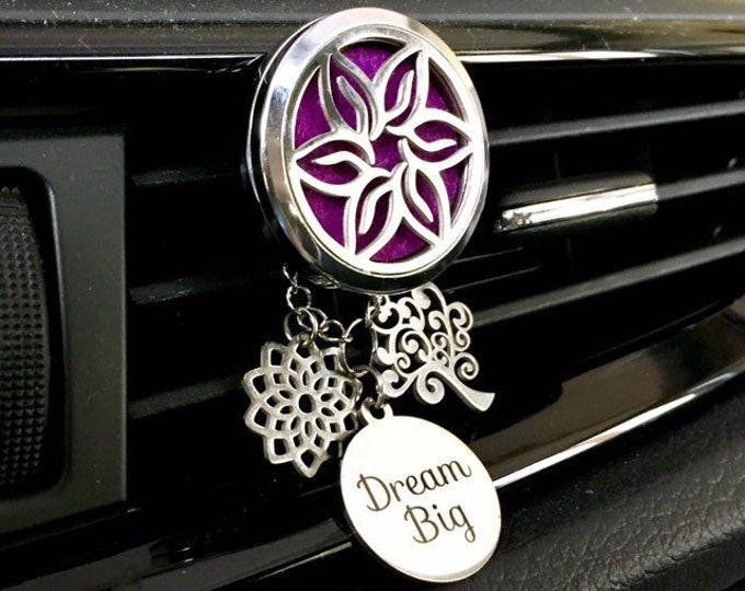 Essential Oils Car Diffuser, Aromatherapy Locket,  Car Scent Diffuser