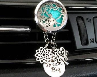 Aromatherapy Car Diffuser, Fairy Essential Oils Car Locket, Car Oils Diffuser