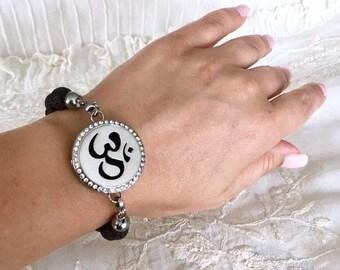 Aromatherapy Bracelet, Diffuser Locket, Essential Oils Bracelet, Lava Beads