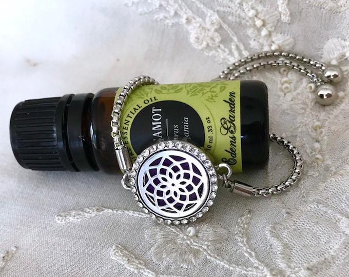 Aromatherapy Bracelet, Essential Oils Locket, Diffuser Bracelet