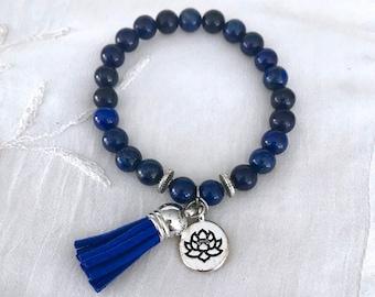 Diffuser Tassel Bracelet, Aromatherapy Bracelet, Essential Oils Bracelet, Yoga Bracelet